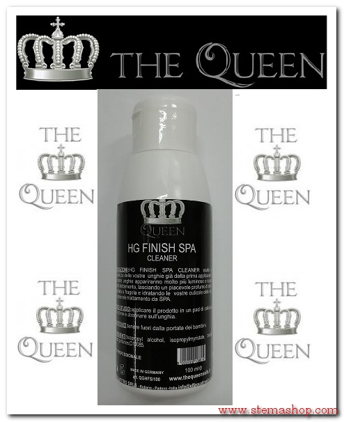 The QUEEN HG FINISH SPA CLEANER 100 ML