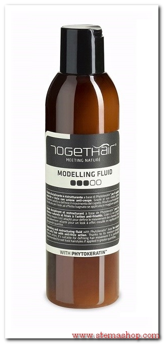 TOGETHAIR MODELLING FLUID-FLUIDO DISCIPLINANTE E RISTRUTTURANTE-NICHEL TESTED-PARABEN FREE-95% NATURALE 200 ML