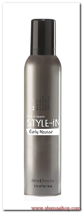 INEBRYA STYLE-IN CURLY MOUSSE RICCI 250 ml