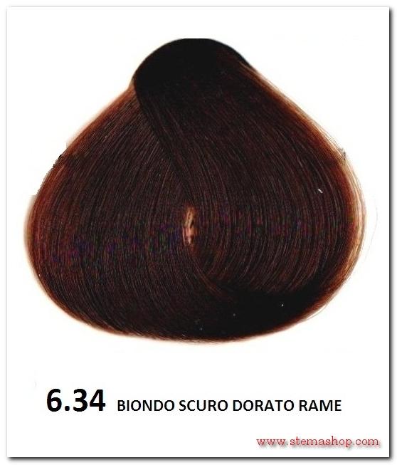 Amato DORATI RAME : FANOLA TINTA 6.34 BIONDO SCURO DORATO RAME KE58