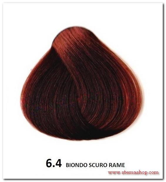 Eccezionale RAME : FANOLA TINTA 6.4 BIONDO SCURO RAME PU86