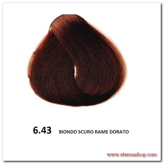 Favoloso RAME DORATI : FANOLA TINTA 6.43 BIONDO SCURO RAME DORATO KI22