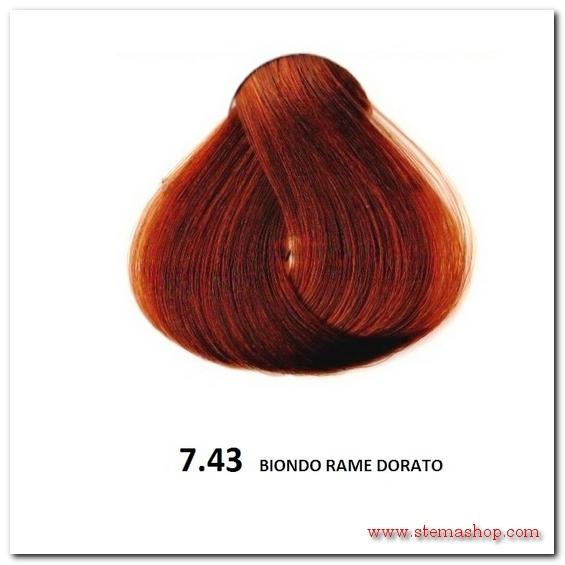 Favorito RAME DORATI : FANOLA TINTA 7.43 BIONDO RAME DORATO ML58