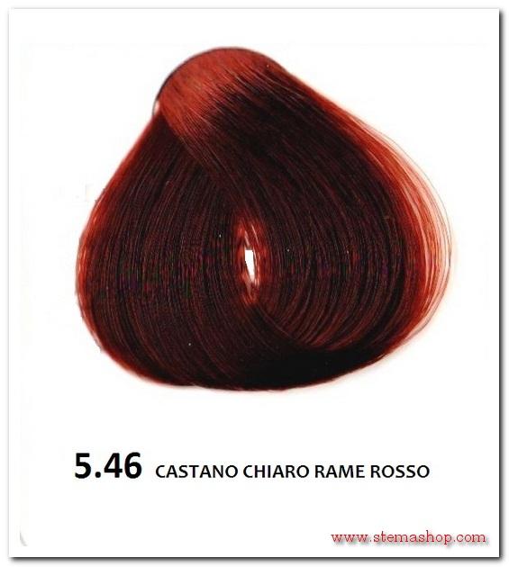 abbastanza RAME ROSSI : FANOLA TINTA 5.46 CASTANO CHIARO RAME ROSSO FU28