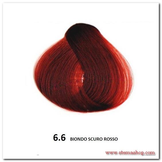 Molto ROSSI : FANOLA TINTA 6.6 BIONDO SCURO ROSSO JG21