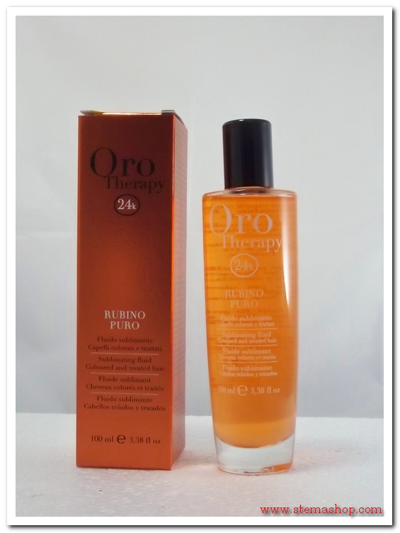 FANOLA ORO THERAPY RUBINO PURO FLUIDO SUBLIMANTE 100 ml