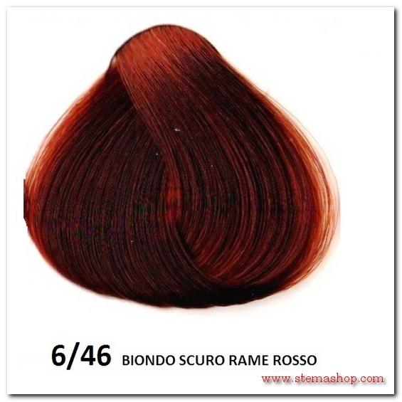 Super RAME ROSSI : INEBRYA TINTA 6/46 BIONDO SCURO RAME ROSSO NY68