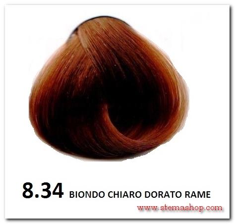 Colore capelli biondo chiarissimo dorato rame