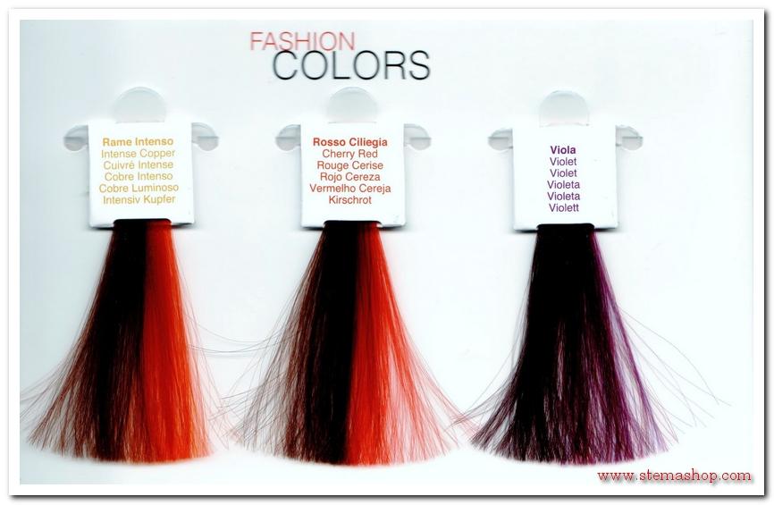 Maschera colorata capelli viola