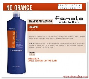 NO ORANGE SHAMPOO 1000 ML