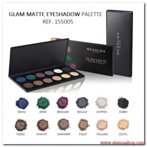 palette-glam matt EYESHADOW 155005